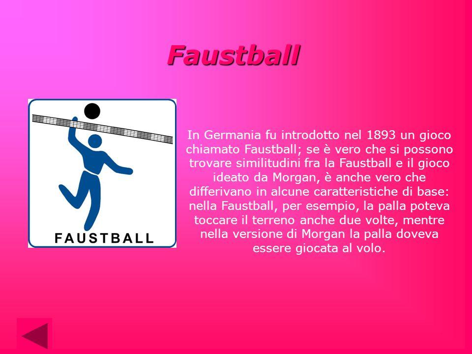 In Germania fu introdotto nel 1893 un gioco chiamato Faustball; se è vero che si possono trovare similitudini fra la Faustball e il gioco ideato da Mo