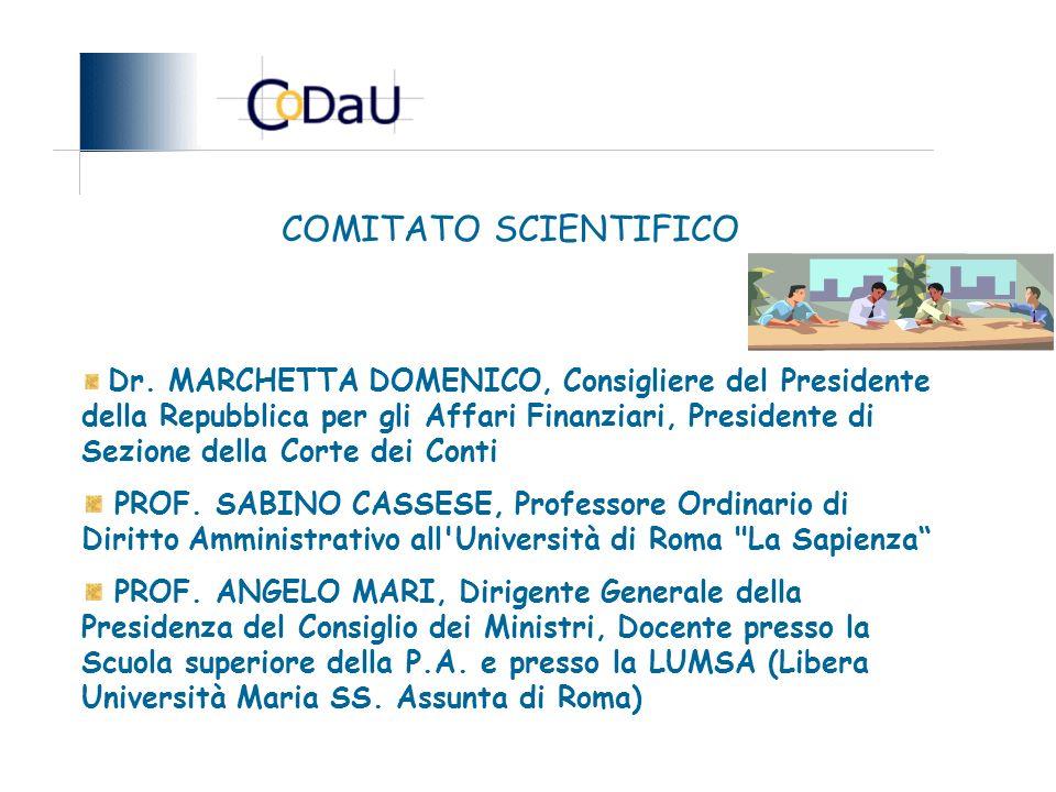 COMITATO SCIENTIFICO Dr.