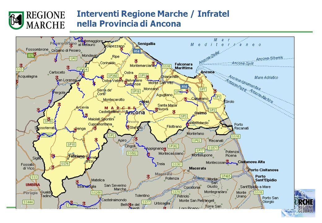 Interventi Regione Marche / Infratel nella Provincia di Ancona