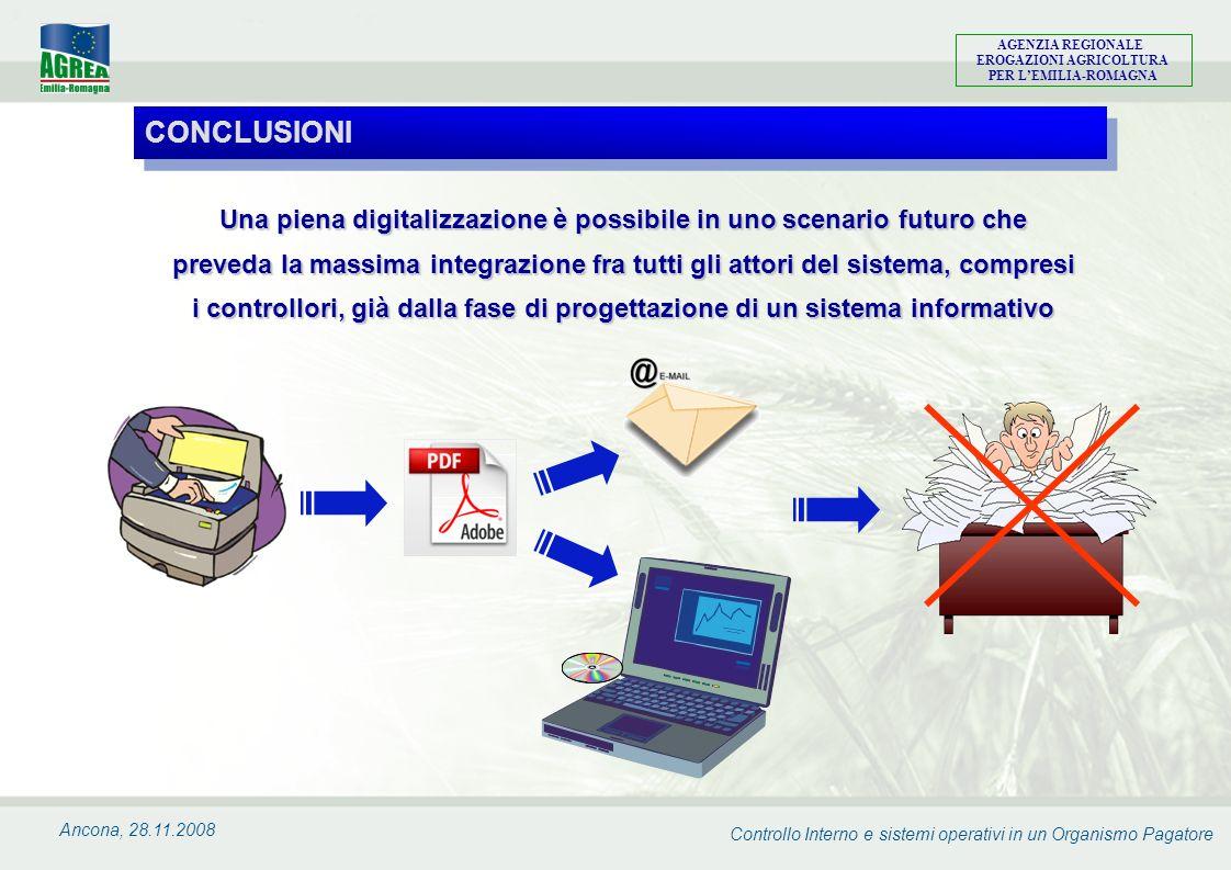 Controllo Interno e sistemi operativi in un Organismo Pagatore AGENZIA REGIONALE EROGAZIONI AGRICOLTURA PER LEMILIA-ROMAGNA Ancona, 28.11.2008 Una pie