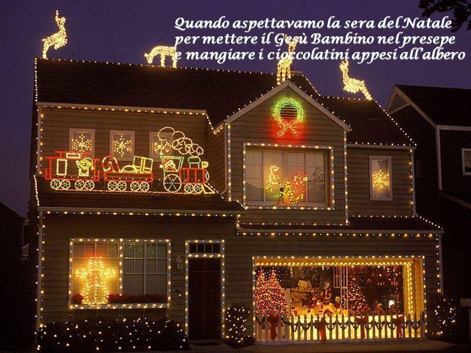 Ninna nanna,la Notte Santa, i Re Magi erano queste le poesie che annunciavano larrivo del Santo Natale
