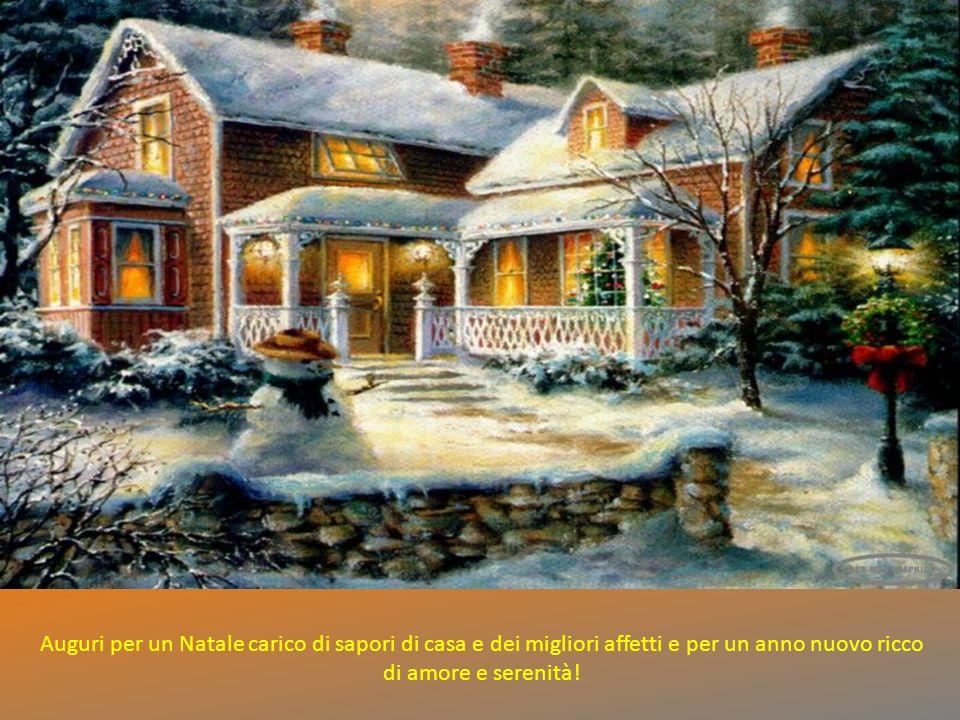 Auguri per un Natale carico di sapori di casa e dei migliori affetti e per un anno nuovo ricco di amore e serenità!