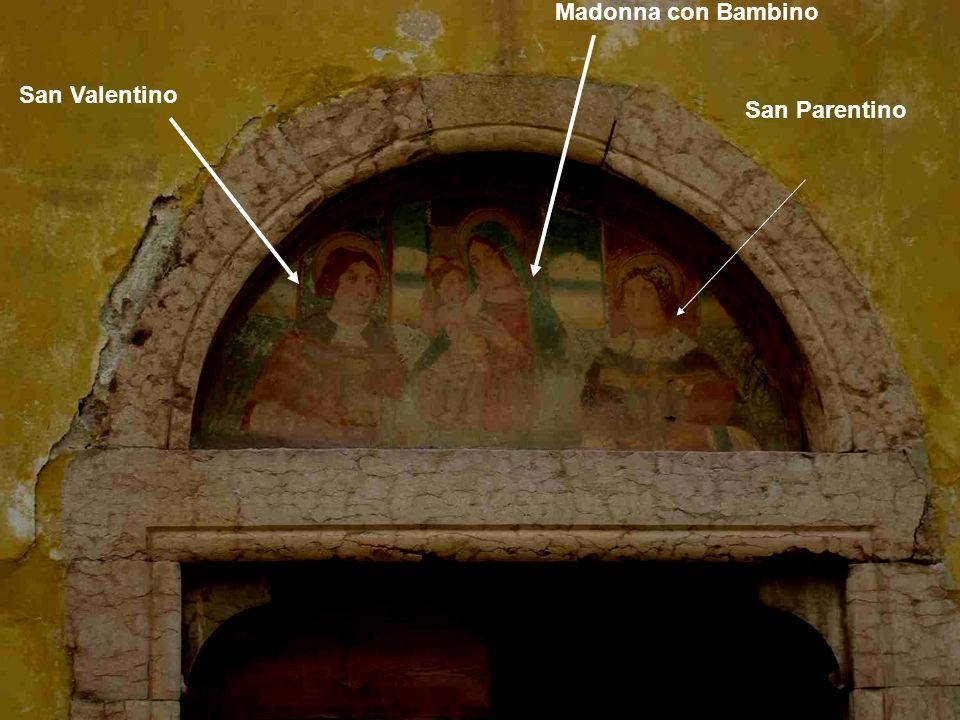 Madonna con Bambino San Valentino San Parentino
