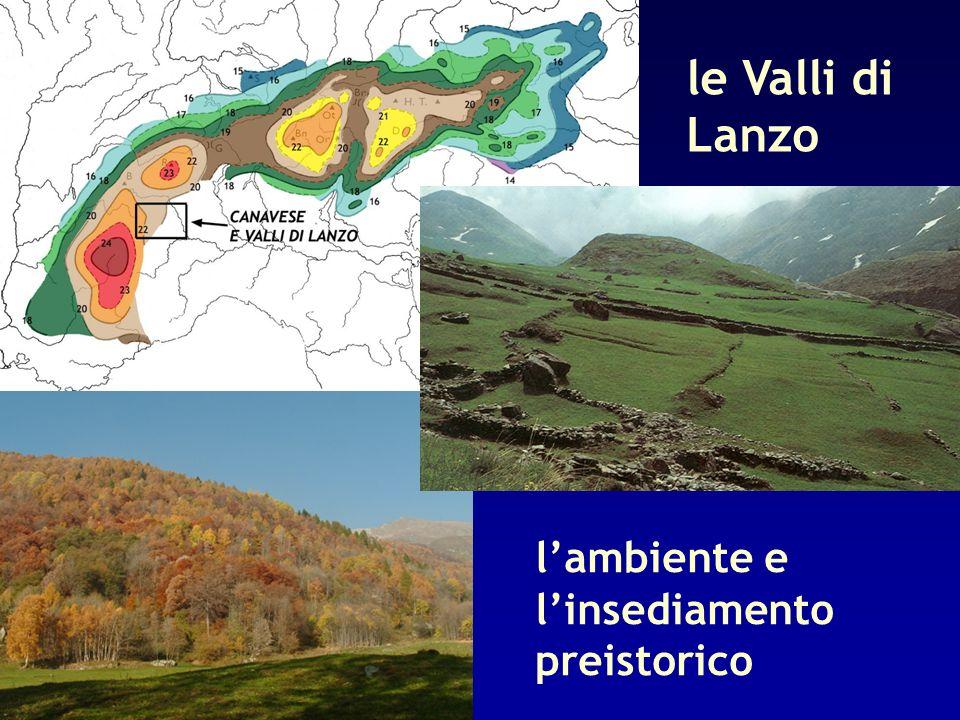 le Valli di Lanzo lambiente e linsediamento preistorico