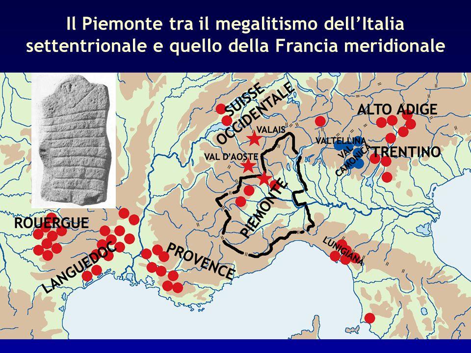 Il Piemonte tra il megalitismo dellItalia settentrionale e quello della Francia meridionale