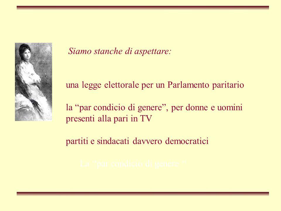 Aspettare stanca In Italia potreste modificare questo stato di cose, col risultato di rafforzare la politica progressista.