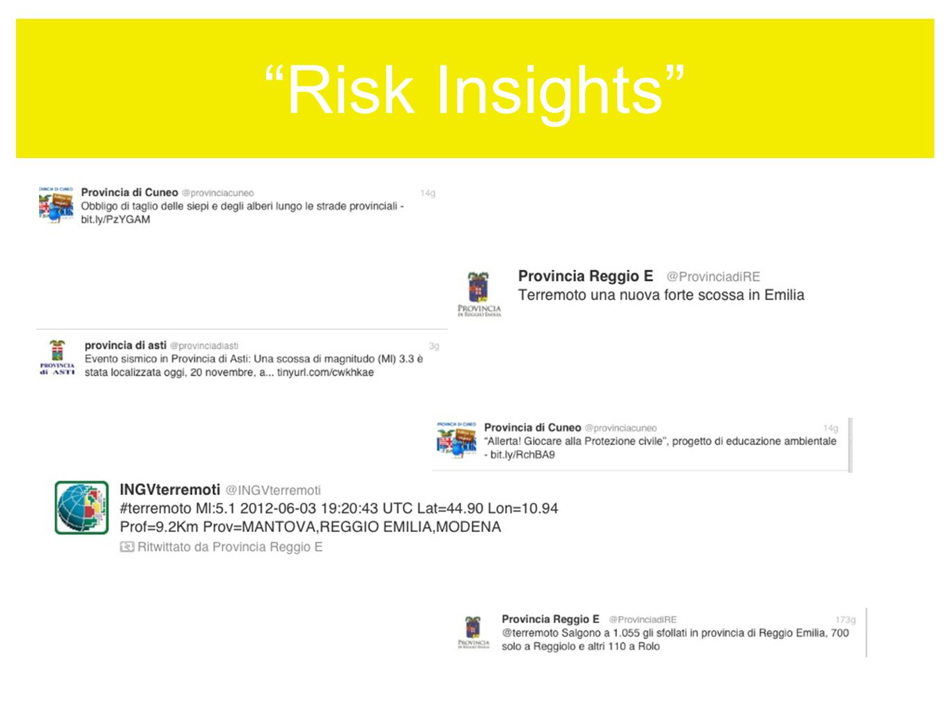 Risk Insights UN ESEMPIO: