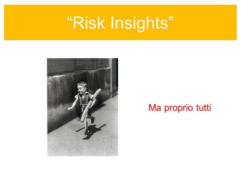 Risk Insights sempre colore nellinformazione Ma proprio tutti