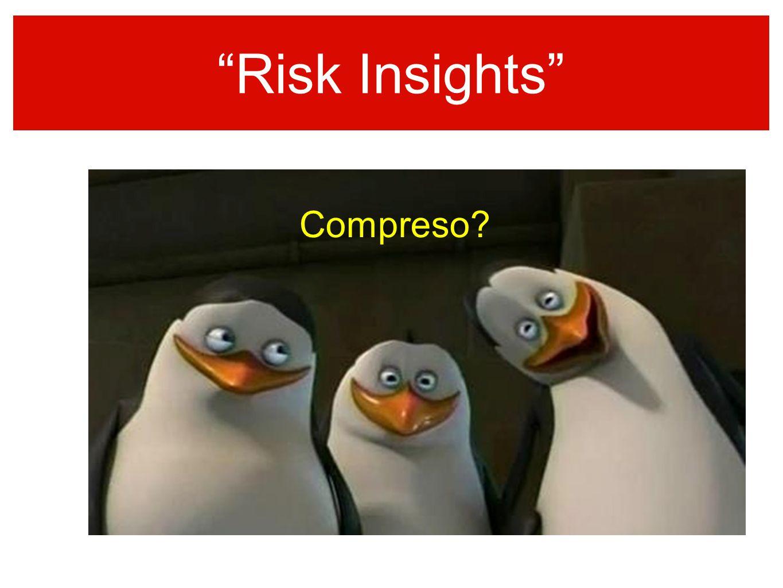 Risk Insights sempre colore nellinformazione Compreso