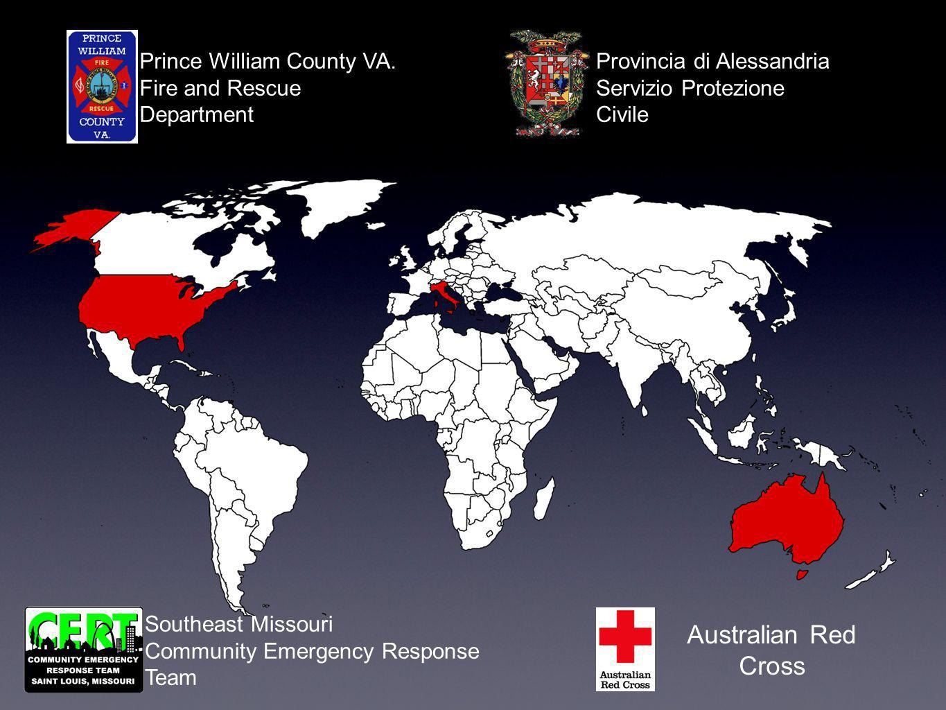 Australian Red Cross Southeast Missouri Community Emergency Response Team Prince William County VA.
