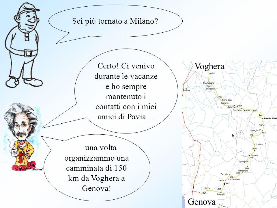 Sei più tornato a Milano. Certo.