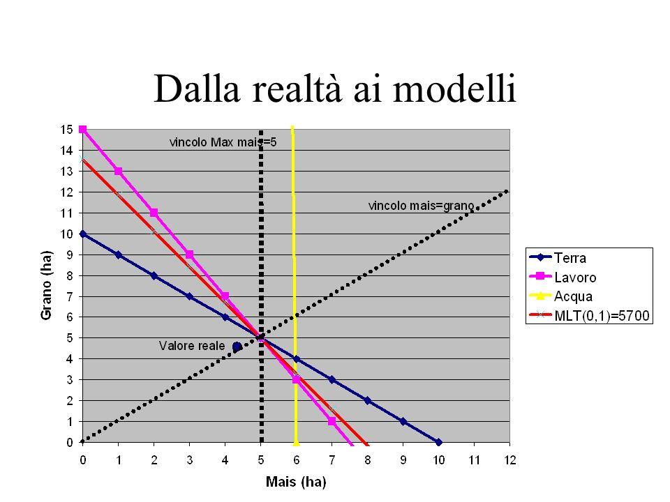 Dalla realtà ai modelli