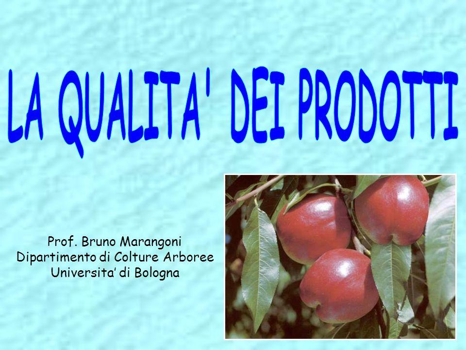 Relazione fra la % di N nelle foglie alla raccolta e la durezza del frutto dopo 6 mesi di conservazione in camera refrigerata (da Johnson, Costa et al., 1995)
