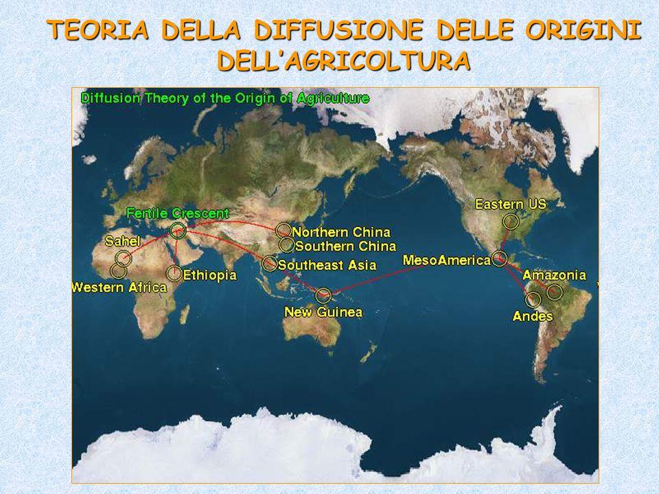 TEORIA DELLA DIFFUSIONE DELLE ORIGINI DELLAGRICOLTURA