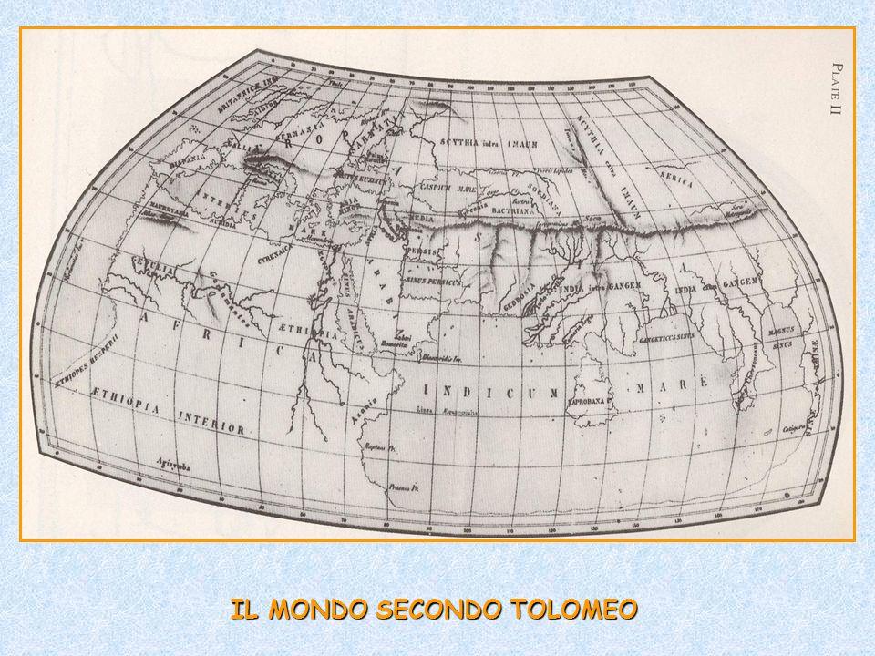 IL MONDO SECONDO TOLOMEO
