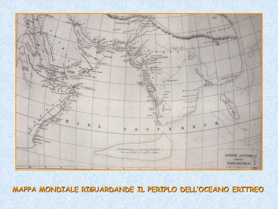 MAPPA MONDIALE RIGUARDANDE IL PERIPLO DELLOCEANO ERITREO