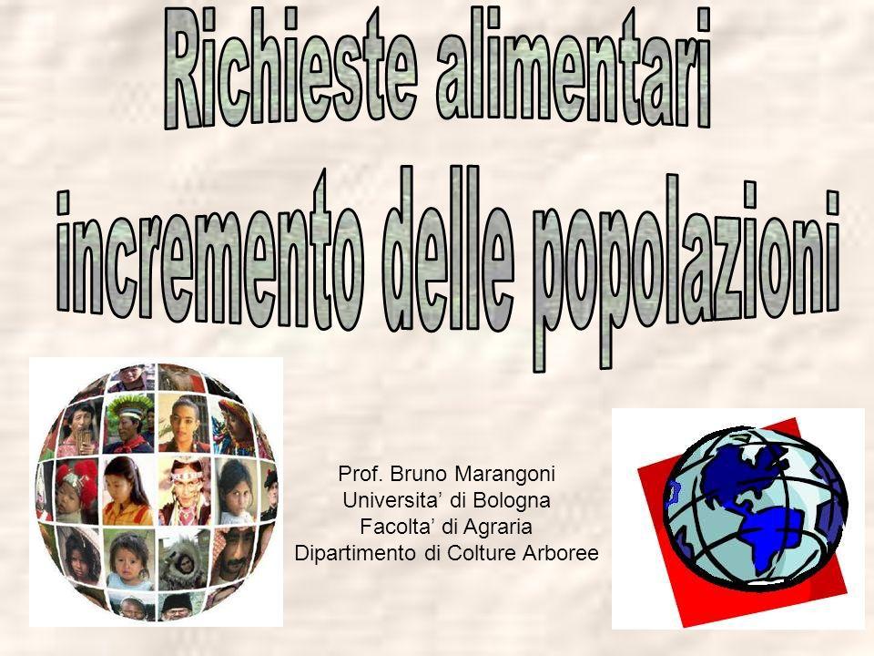 Prof. Bruno Marangoni Universita di Bologna Facolta di Agraria Dipartimento di Colture Arboree