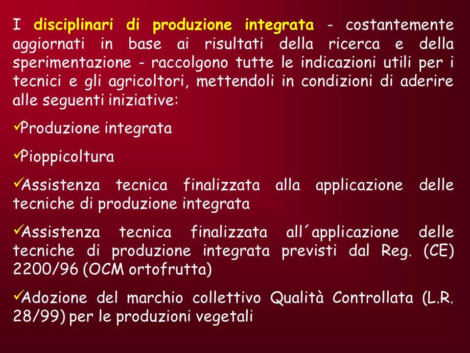 È un marchio depositato dalla Regione Emilia-Romagna il cui utilizzo è concesso a quelle imprese di produzione, di trasformazione, di commercializzazione che si impegnano a rispettare gli appositi disciplinari di produzione integrata.