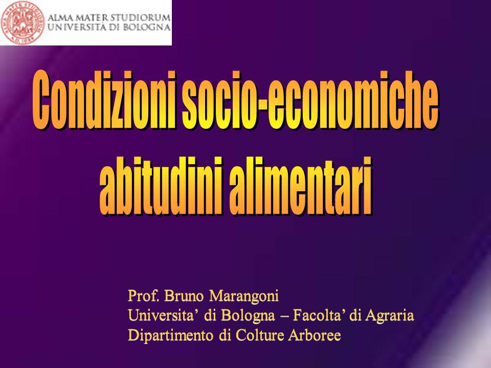 Prof. Bruno Marangoni Universita di Bologna – Facolta di Agraria Dipartimento di Colture Arboree Prof. Bruno Marangoni Universita di Bologna – Facolta