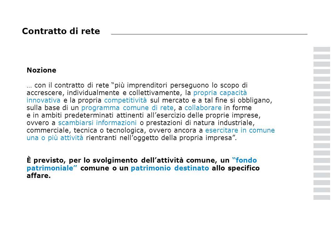 Modello reti Contiene lindicazione delle somme accantonate a riserva per il periodo dimposta in corso al 31.12.2010.