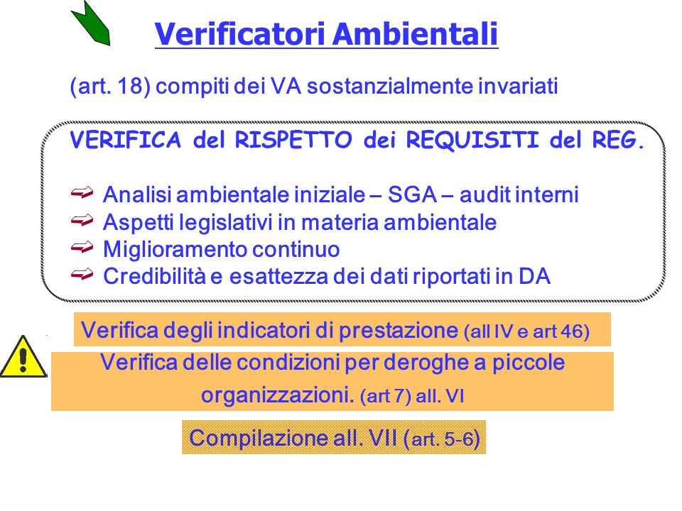 Verificatori Ambientali (art.