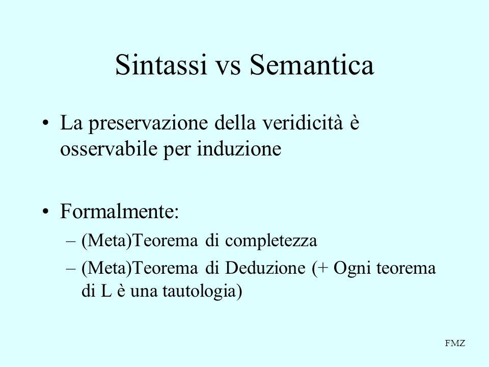 FMZ Logica proposizionale (limiti) Socrate è un uomo.