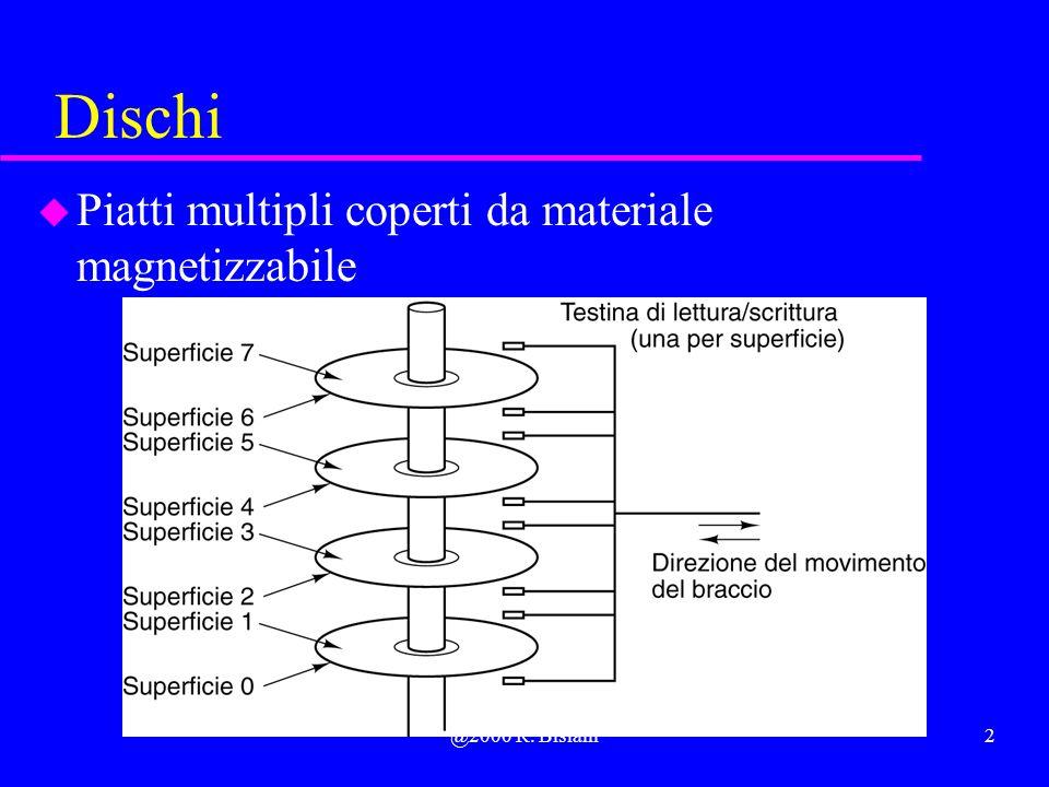@2000 R. Bisiani2 Dischi u Piatti multipli coperti da materiale magnetizzabile