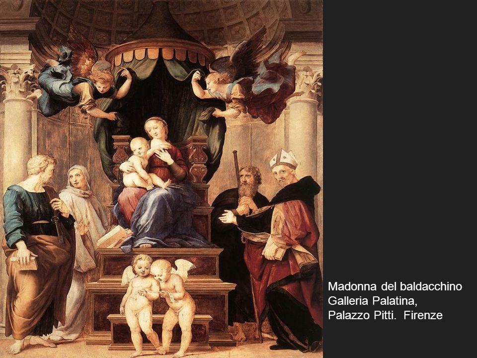 Madonna del baldacchino Galleria Palatina, Palazzo Pitti. Firenze