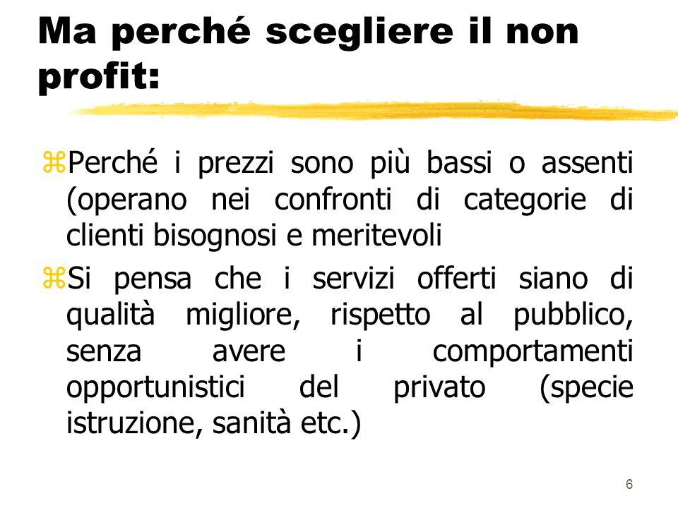 7 La gestione del personale nelle aziende non profit di Federica Bandini