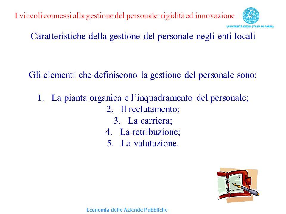 SELEZIONE / ASSUNZIONE DEL PERSONALE NELLA P.A.