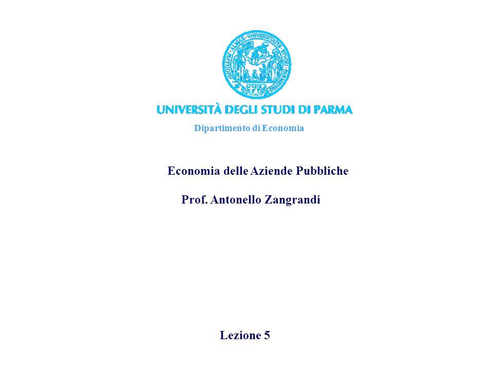 Economia delle Aziende Pubbliche Il concetto di economicità nelle aziende pubbliche Può essere definito come: equilibrio dinamico nel tempo tra la quantità delle risorse impiegate nei processi tipici di unazienda pubblica e le attività, servizi, funzioni proprie della stessa.