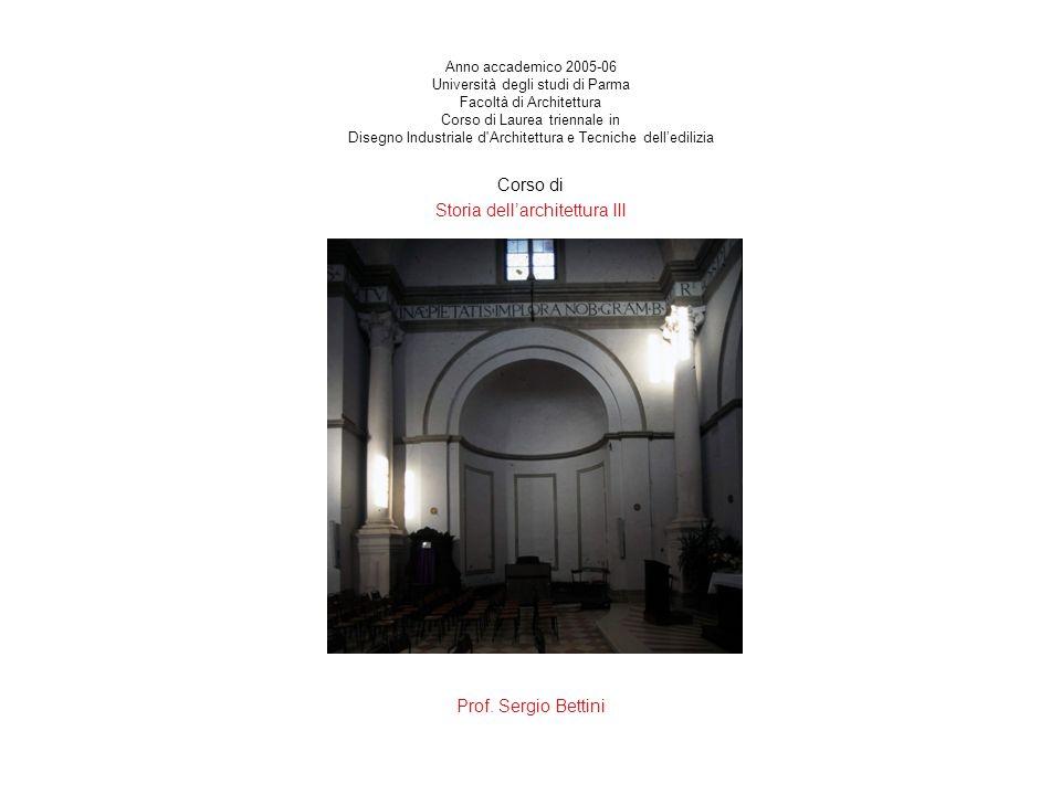 Anno accademico 2005-06 Università degli studi di Parma Facoltà di Architettura Corso di Laurea triennale in Disegno Industriale d'Architettura e Tecn
