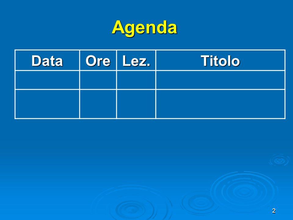 3 Breve riassunto Lez.13: gli effetti esterni delle attività economiche Lez.