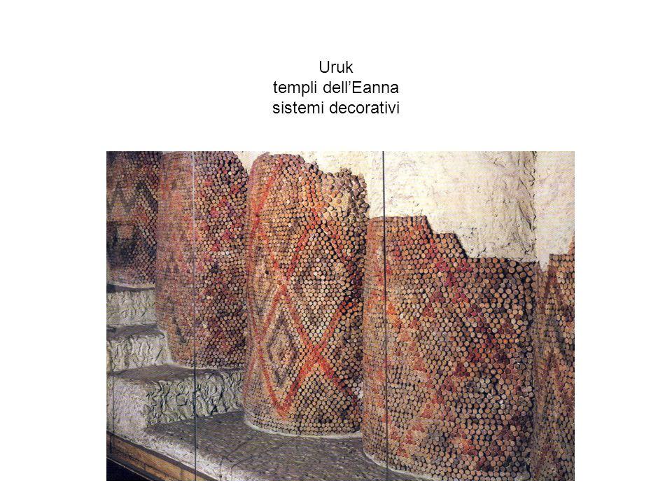 Uruk templi dellEanna sistemi decorativi