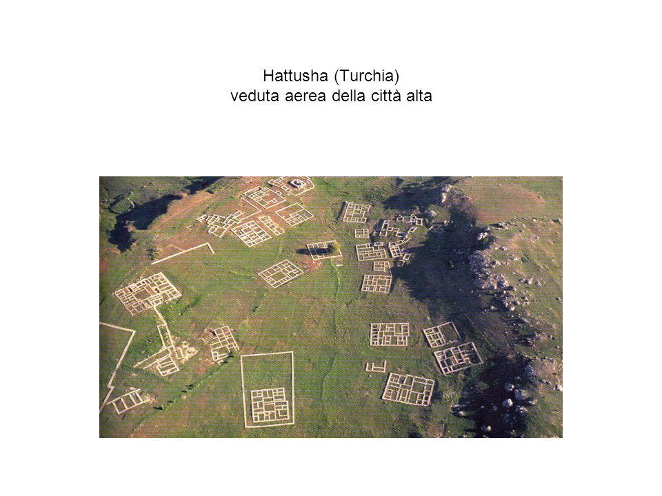 Hattusha (Turchia) veduta aerea della città alta