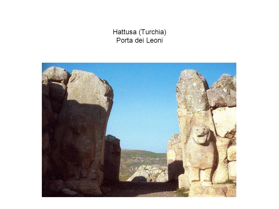Hattusa (Turchia) Porta dei Leoni