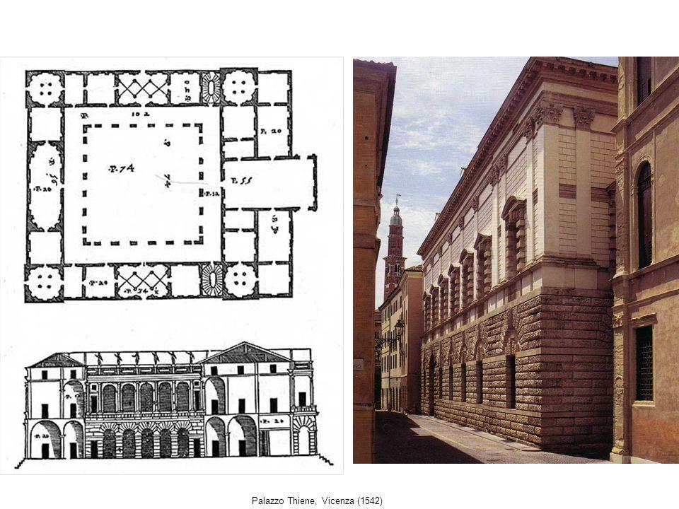 Palazzo Thiene, Vicenza (1542)
