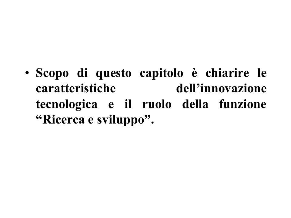 Modelli di interpretazione dellinnovazione tecnologica.