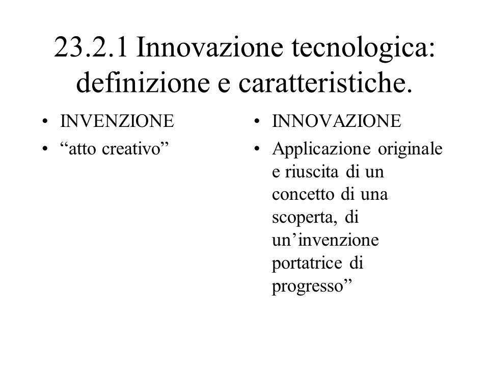 23.3 LA FUNZIONE RICERCA E SVILUPPO La ricerca applicata si valuta la concreta possibilità di applicazione delle ricerca teorica.