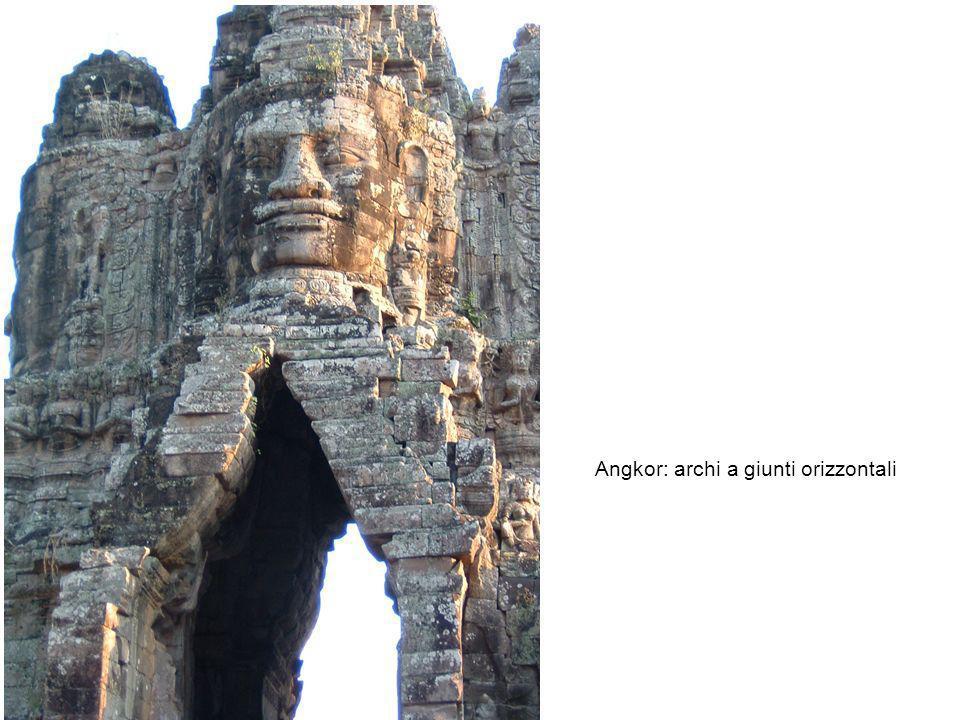 Angkor: archi a giunti orizzontali