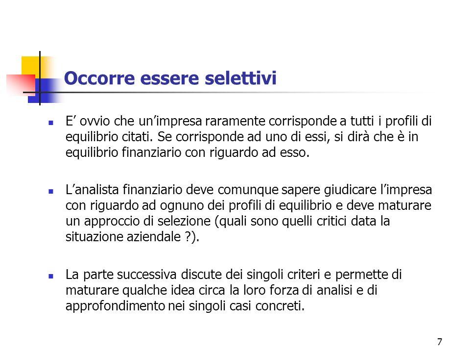 8 [1] Il divario tra le entrate e le uscite monetarie Si tratta del controllo di tesoreria.