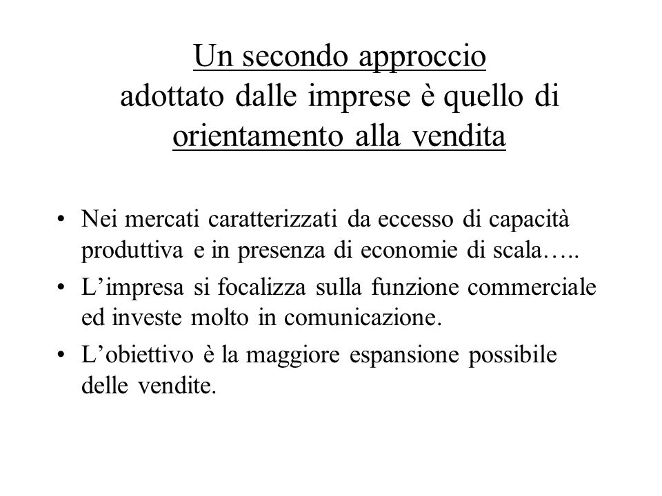 Marketing relazionale Marketing dei servizi Marketing business to business Marketing di canale Data base marketing e direct marketing