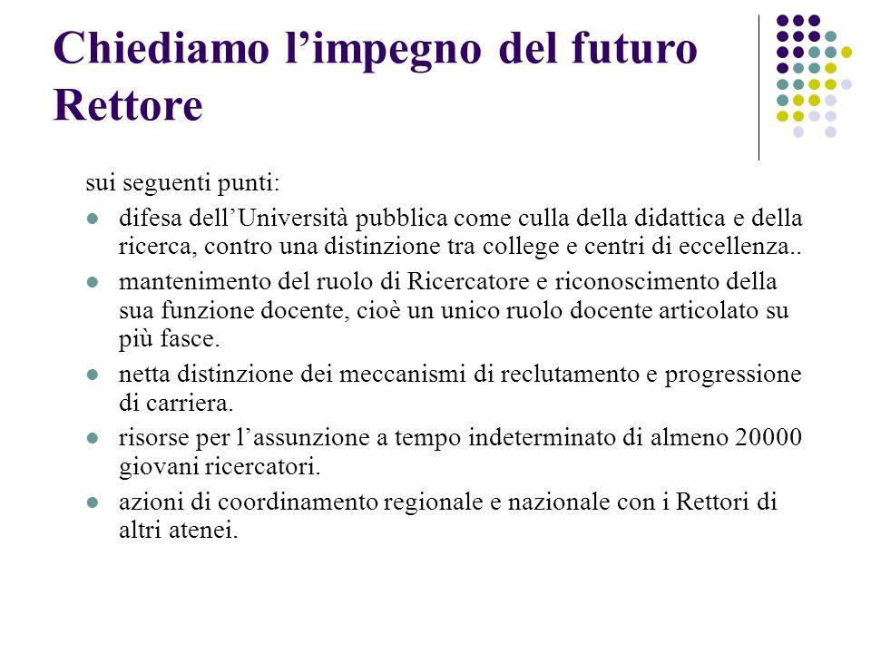 Limpegno politico fino ad ora Le istituzione dellAteneo Modenese sono state tiepide nel prendere posizioni contro il DDL.