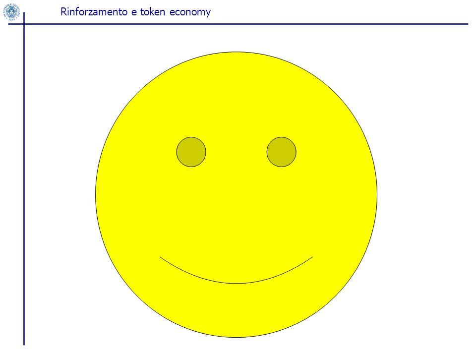 Rinforzamento e token economy