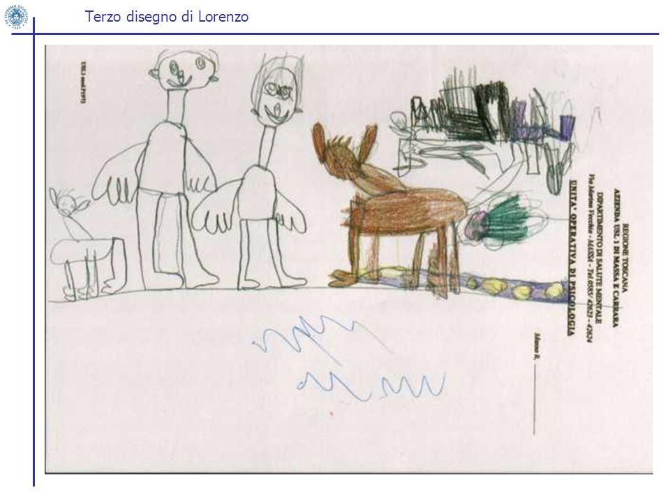 Terzo disegno di Lorenzo
