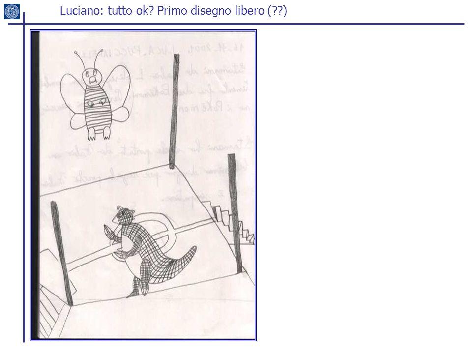 Luciano: tutto ok? Primo disegno libero (??)