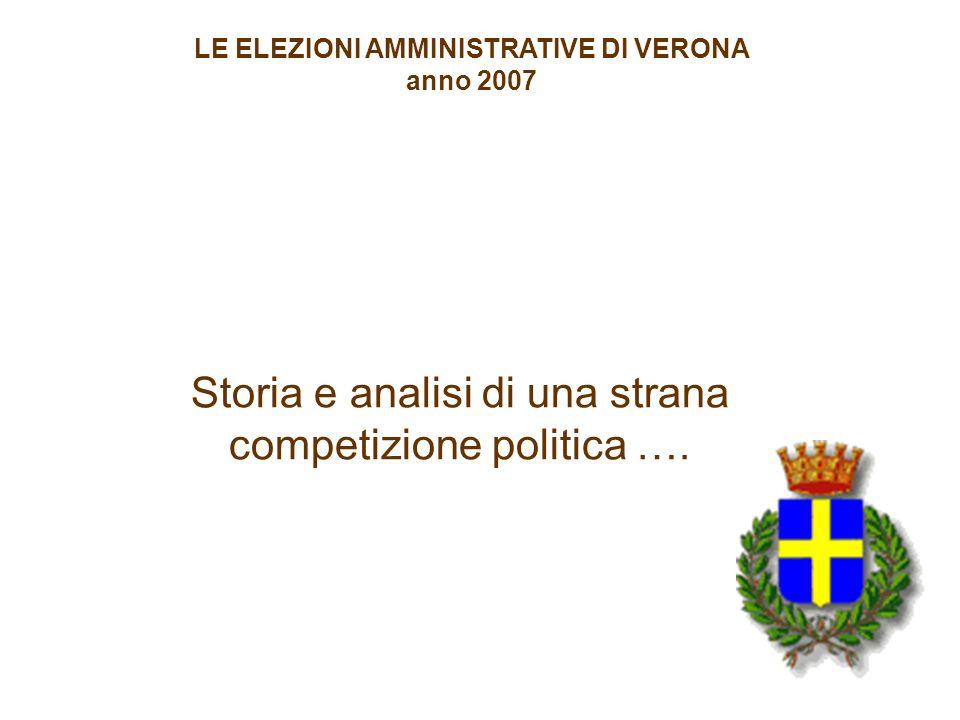DENTRO I PROGRAMMI …. Storia e analisi di una strana competizione politica ….
