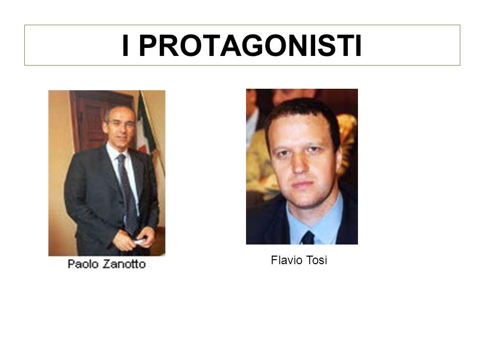 I PROTAGONISTI Flavio Tosi