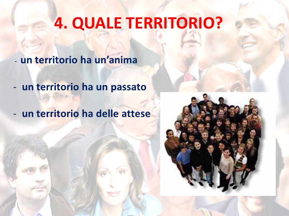 4. QUALE TERRITORIO.