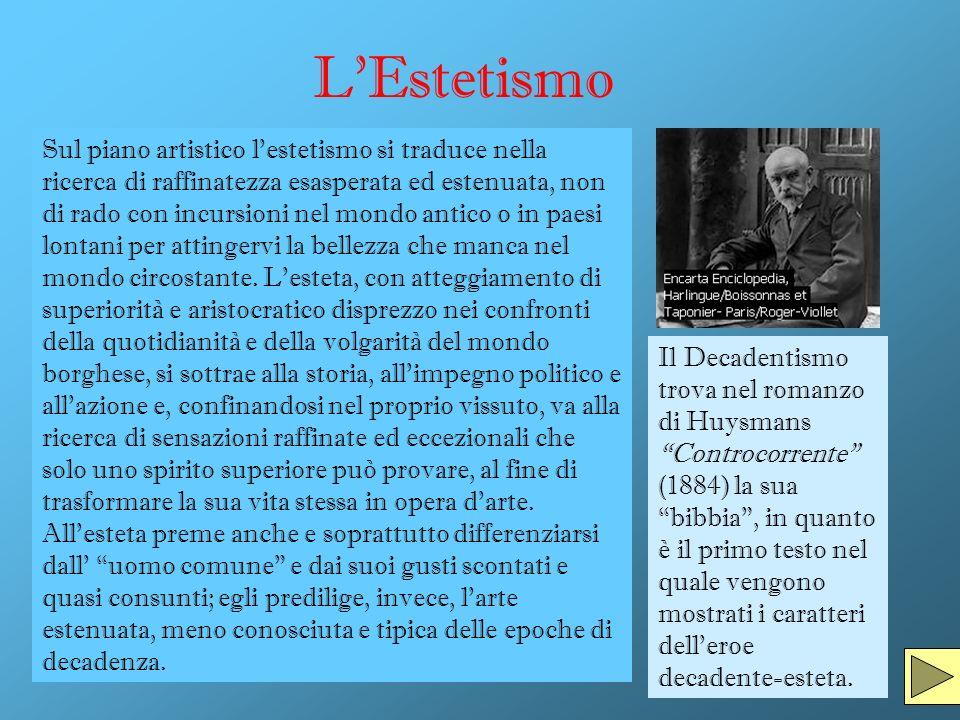 Il Superomismo Il Superomismo, altro aspetto del Decadentismo, ha come teorizzatore il filosofo tedesco Friedrich Nietzsche.
